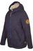 Elkline Spielzimmer Fleece Jacket Junior blueshadow - offwhite